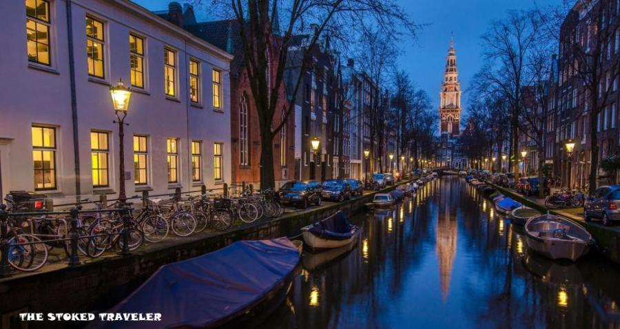 amsterdam-holland-houses-boat-river-night-1080p-wallpaper-middle-size