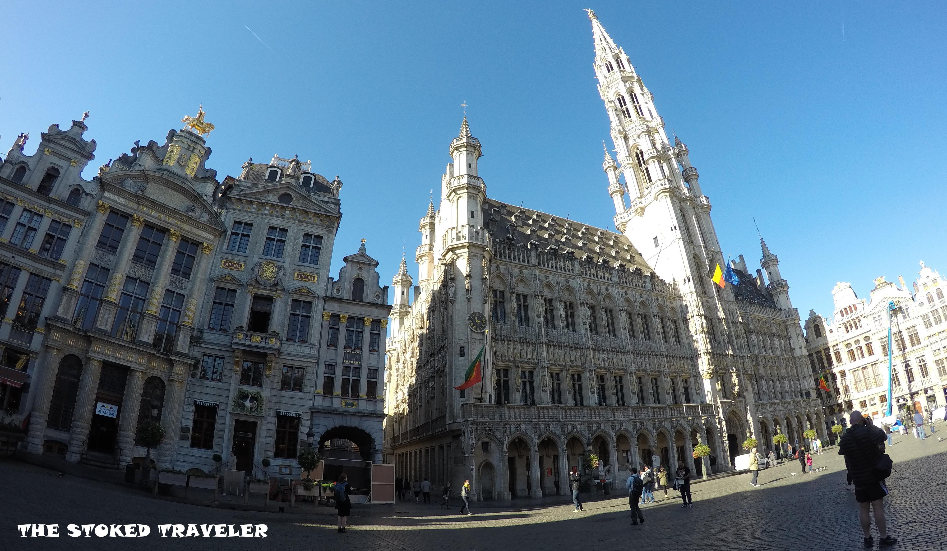 Quick Trip to Belgium, Brussels
